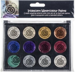 Creative Expressions Cosmic Shimmer Iridescent Watercolor Palette Set 7 - Christmas