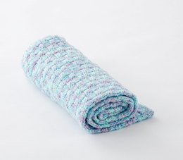 Gift of Love Knit Baby Blanket in Caron Jumbo - Downloadable PDF