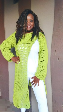 Green With Envy Cardigan Wrap