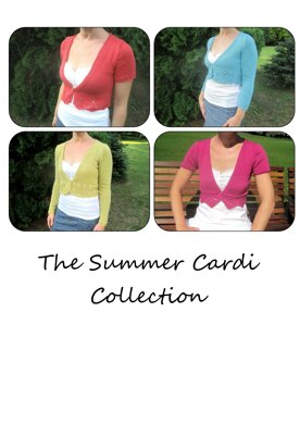 The Summer Cardi Collection E-Book