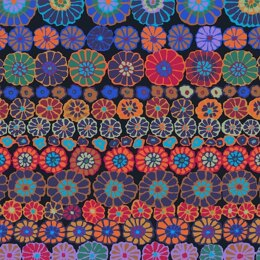 Kaffe Fassett Row Flowers Cut to Length - Dark