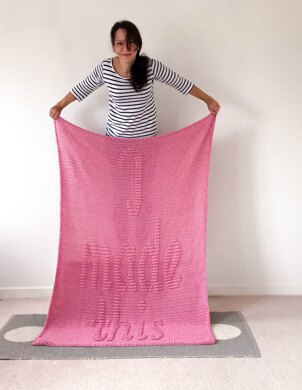 I Made This Blanket