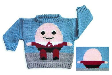 Humpty Dumpty Sweater to Knit