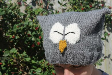 Owl Slouchy Hat