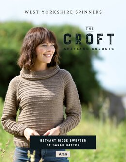 Bethany Ridge Sweater in West Yorkshire Spinners  The Croft Shetland Colours - DBP0068 - Downloadable PDF