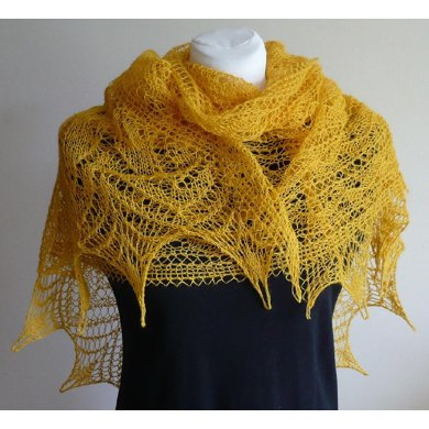 Party Line Lace Shawl