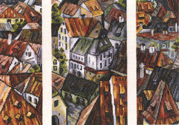 RTO The Roofs Cross Stitch Kit