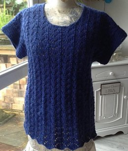 Aran Weight Lace Tunic