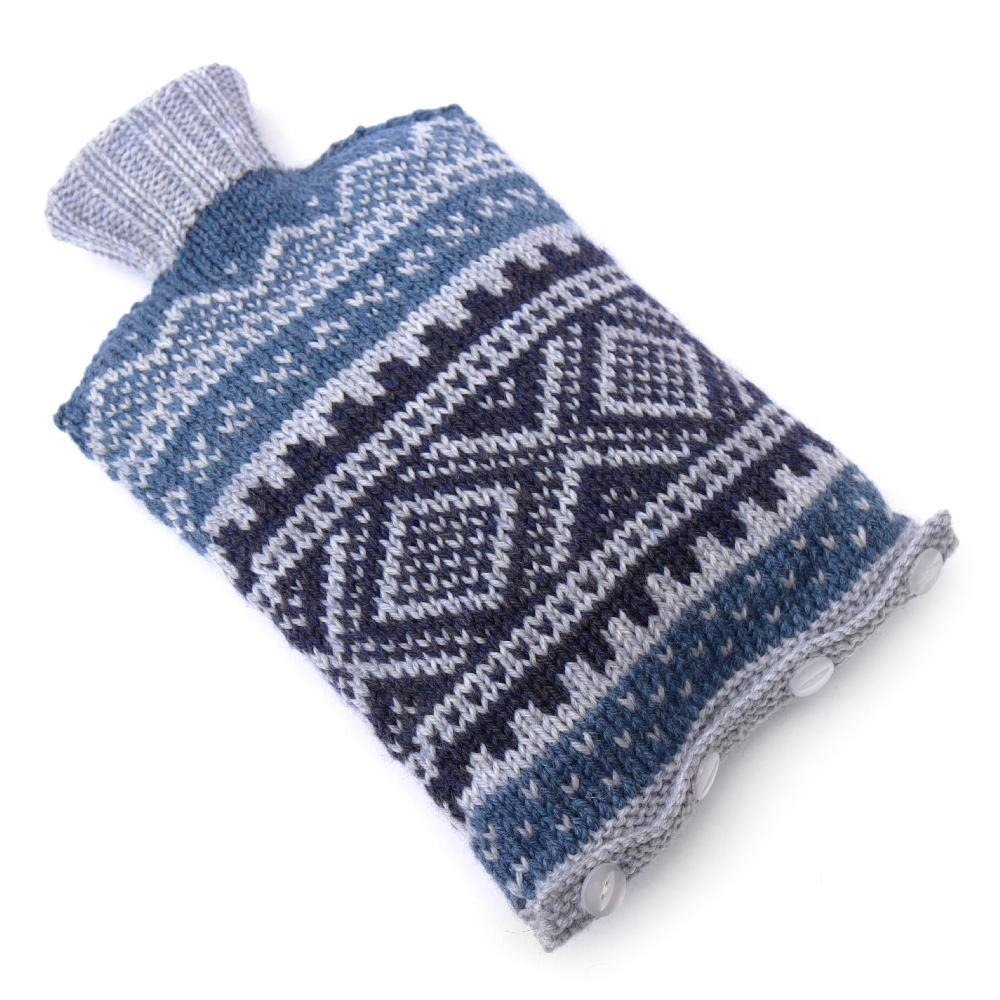 Nordic Headband Knitting Pattern : Nordic ski sweater hot water bottle cover Knitting pattern ...