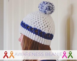 Awareness Ribbon Beanie