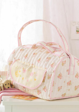 Made with Love - Pink Baby Bag in Anchor - Downloadable PDF