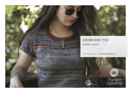 Grimoire Tee by Kiyomi Burgin in The Yarn Collective- Downloadable PDF