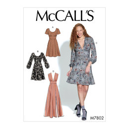 McCall's Misses' Dresses M7802 - Sewing Pattern