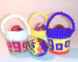 Easter Creme Egg buckets