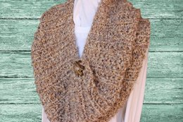 Chunky Ribbed Cape or Cowl
