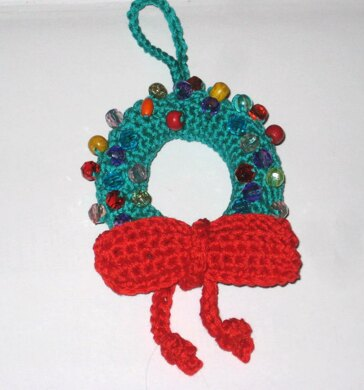 Christmas Wreath Ornament Crochet Pattern By Pletionica