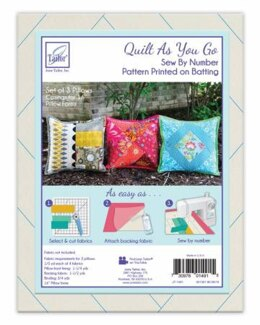 June Tailor Inc Quilt As You Go Pillow Covers