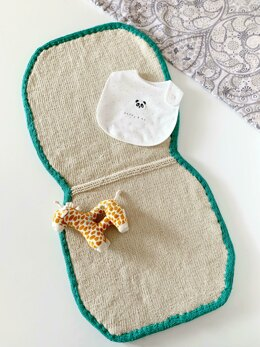 Knit Minkeh Baby Play Mat