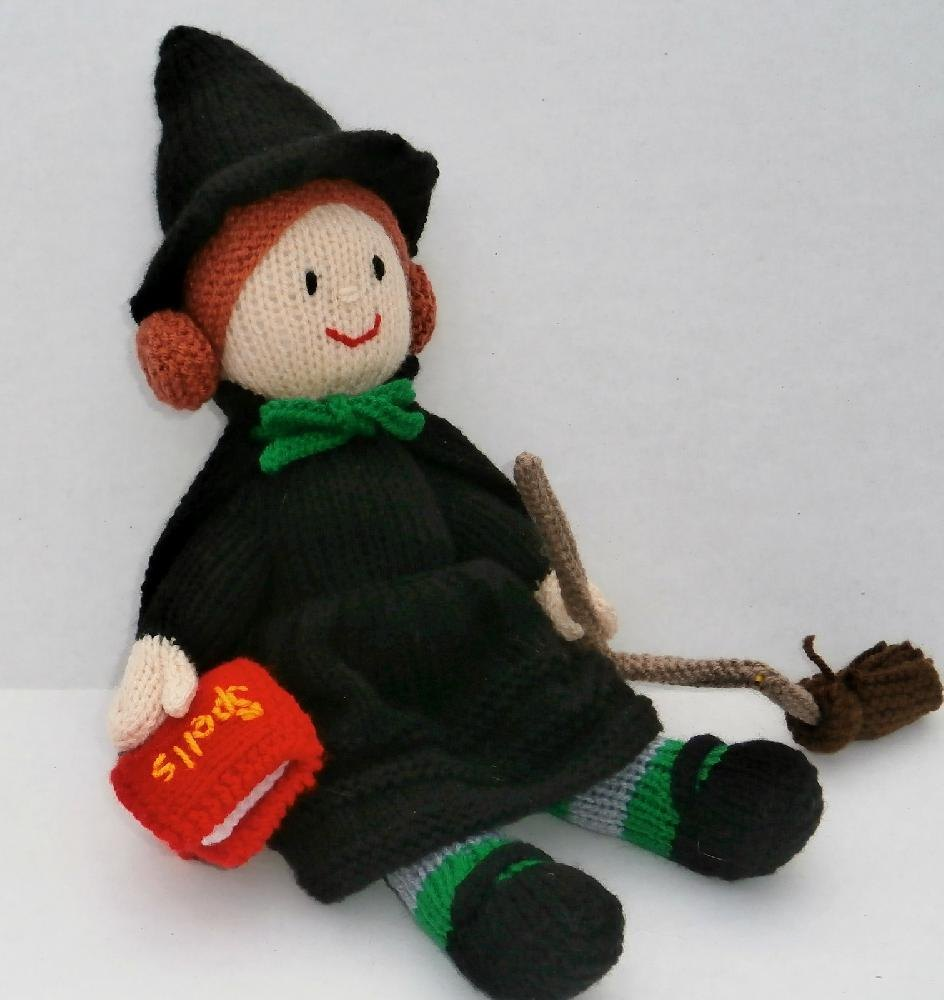 Wendy Witch Knitting pattern by Ann Franklin | Knitting Patterns ...