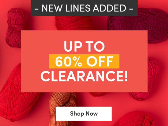 New lines added! Up to 60 percent off clearance!