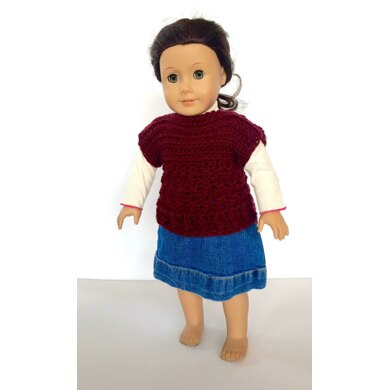 Ruth Pullover for American Girl Dolls