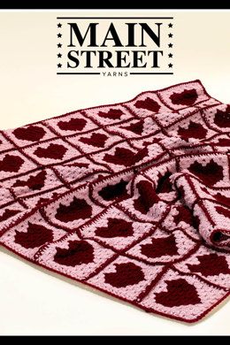 Granny Love Afghan in Main Street Yarns Shiny + Soft - Downloadable PDF