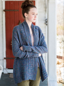 Katahdin Cardigan in Berroco Colora