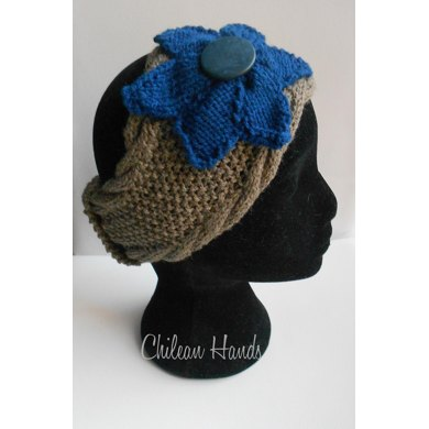Morning Glory Ear warmer / Headband