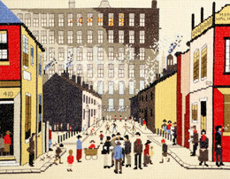 Bothy Threads Street Scene - Needlepoint Kit