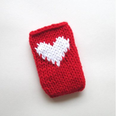 Stitch Red Smartphone Cover (Knit Version)