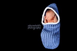 Ribbed Cuddle Cocoon Pattern