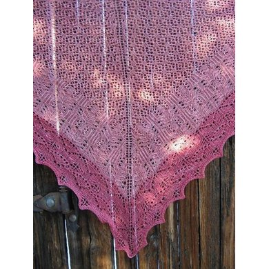Roses of Avon Shawl