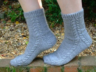 Soft Cable Socks