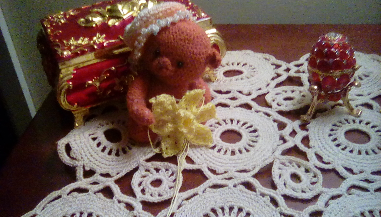 Marie Curie Crochet Daffodil Brooch Crochet Project By Lucy