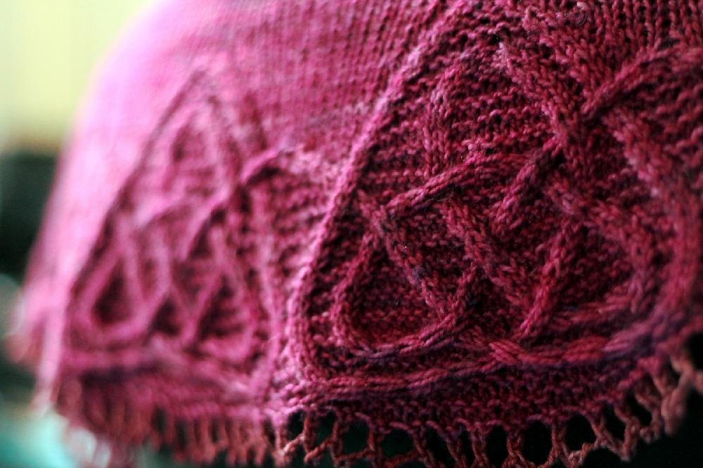 Nine Maidens Knitting pattern by Lucy Hague Knitting ...