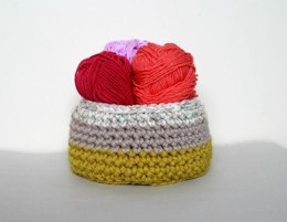 PDF21 Crochet Basket