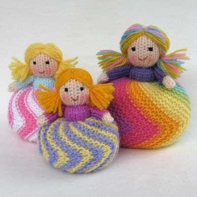 Twirling Doughnut Dolls