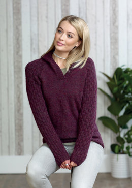 Ladies Sweaters in King Cole - 5017 - Leaflet