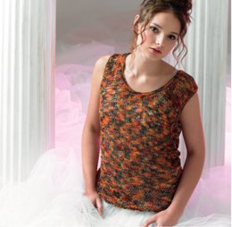 Over Vest in Araucania Botany Lace