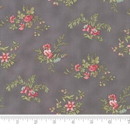 Moda Fabrics 3 Sisters Poetry Cut to Length - Charcoal 2