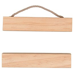 Rico Embroidery Hanger - Wooden Hanging Rail 10cm