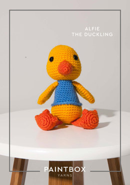 Alfie the Duckling in Paintbox Yarns Simply DK - 012 - Downloadable PDF