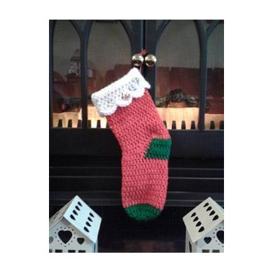 Simply Speedy Santa Stocking