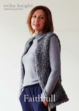 Faithfull in Erika Knight Fur Wool - 1112 - Leaflet