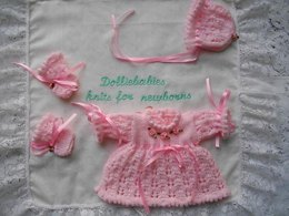 41. Micro Preemie Dress Set