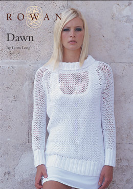 Dawn Jumper in Rowan All Seasons Cotton
