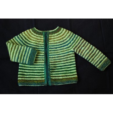 Budgie Striped Baby Sweater