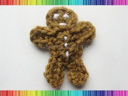 Gingerbread Man Applique