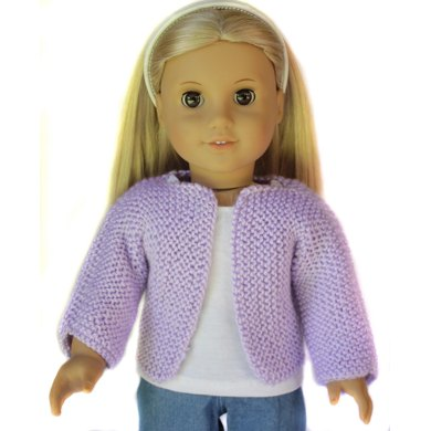 Beginner Knit Sweater For 18 Inch Dolls Knitting Pattern By Doll Tag