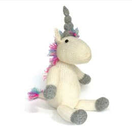 Crafty Kit Co Knit Your Own Unicorn Kit